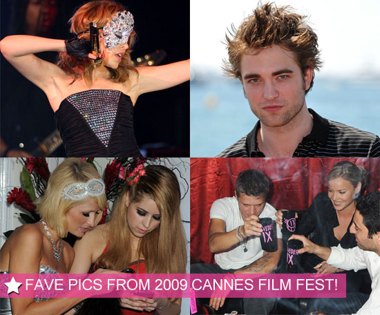 Pictures from 2009 Cannes Film Festival Including Robert Pattinson, Angelina Jolie, Brad Pitt, Paris Hilton, Miranda Kerr