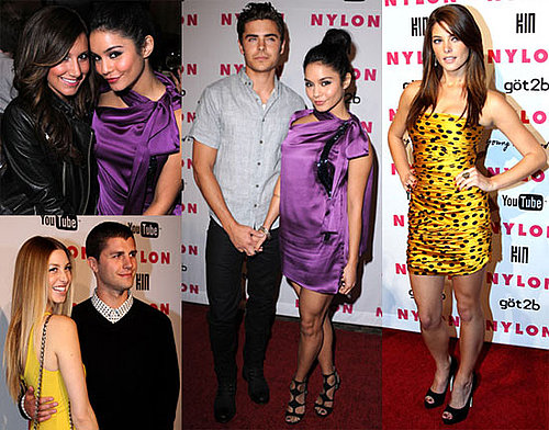Pictures Whitney Port, Zac Efron, Vanessa Hudgens, Ashley Tisdale, Ashley Greene And Portia Doubleday at a Nylon Party in LA