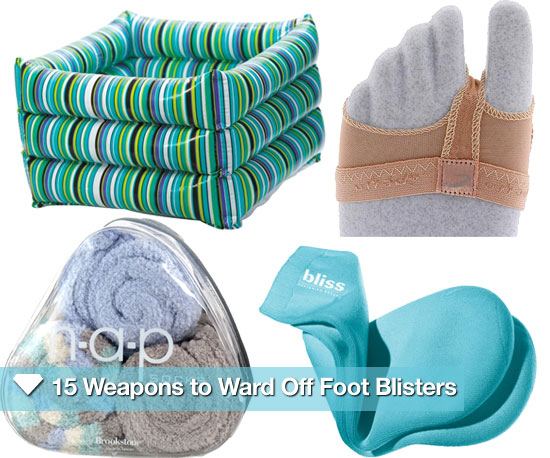 15 Weapons to Ward Off Foot Blisters