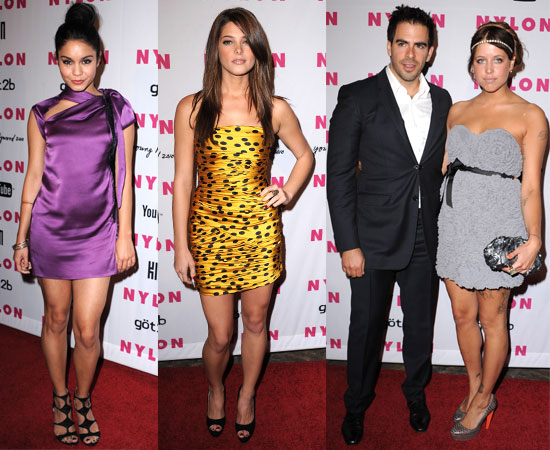 Pictures from Nylon's Young Hollywood Party With Zac Efron, Ashley Greene, Vanessa Hudgens, Peaches Geldof, Eli Roth, Zanessa 2010-05-13 05:00:00