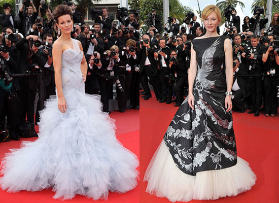 Pictures of Kate Beckinsale, Cate Blanchett, Eva Longoria Parker, Salma Hayek and Helen Mirren at Cannes Film Festival