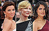 Photos of Eva Longoria, Cate Blanchett and Salma Hayek with Neutral Lip Colours at Cannes