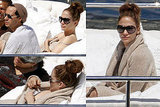 Pictures of Marc and JLO