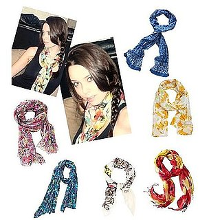 A Bouquet of Summer Scarves