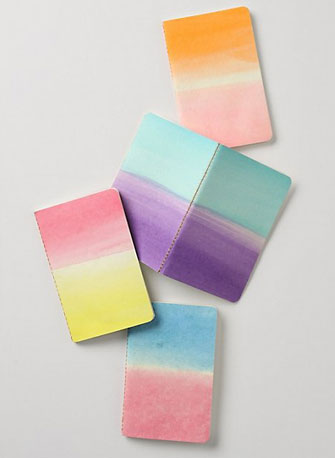 Dip-Dyed Journals