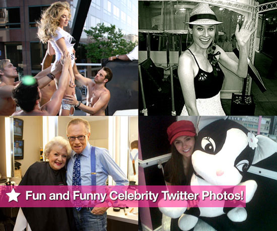 Kylie Minogue, Diane Kruger, Betty White and Nina Dobrev in This Week's Fun and Funny Celebrity Twitter Photos!
