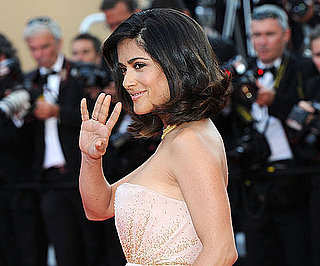 Slide Picture of Salma Hayek at Cannes Film Festival