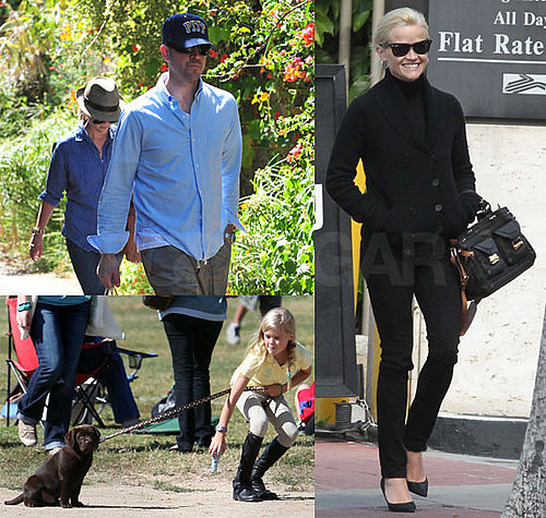 Pictures of Reese Witherspoon With Jim Toth, Ava, Deacon in LA