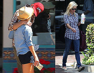 Pictures of Reese Witherspoon and Jim Toth Kissing in Ojai