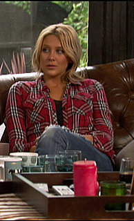 Stephanie Pratt Wears Plaid Shirt on The Hills