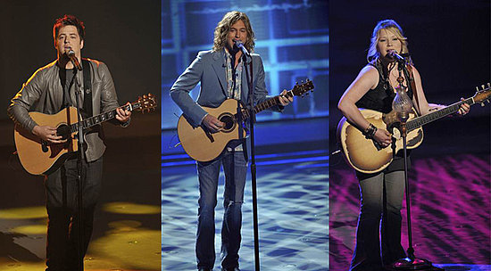 American Idol Top Three Sing Into the Home Stretch