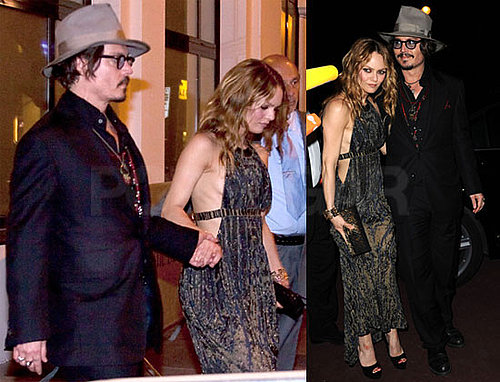 Pictures of Johnny Depp and Vanessa Paradis at Chanel Party During Cannes 2010-05-19 19:30:59