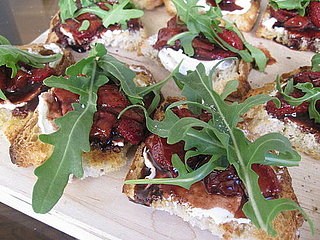 Roasted Strawberry Bruschetta Recipe