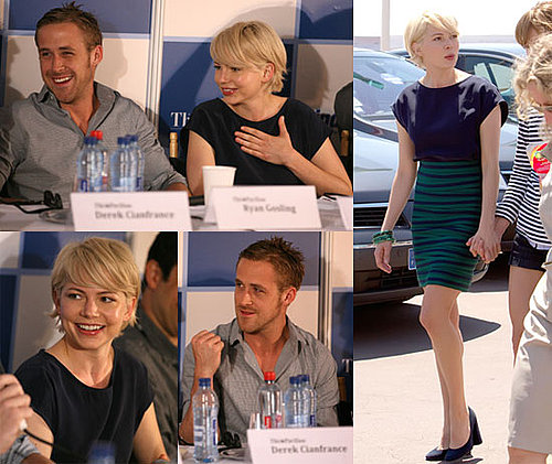 Photos of Michelle Williams And Ryan Gosling Promoting Blue Valentine at Cannes 2010-05-20 07:45:00