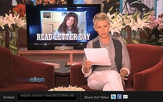 Ellen Calls Out Facebook Scam on Show