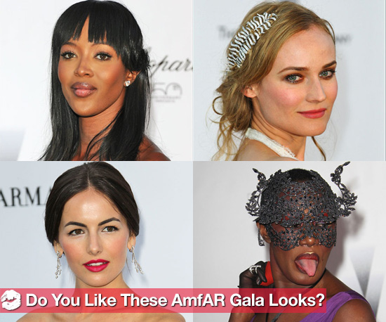 Vote For Your Favorite Celebrity amfAR Looks Now!
