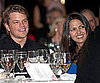 Slide Picture of Matt Damon and Luciana at Save the Children Benefit in CT