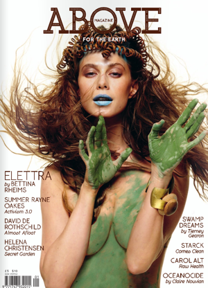 Elettra Wiedemann on Cover of Above Magazine 2010-05-23 11:34:37