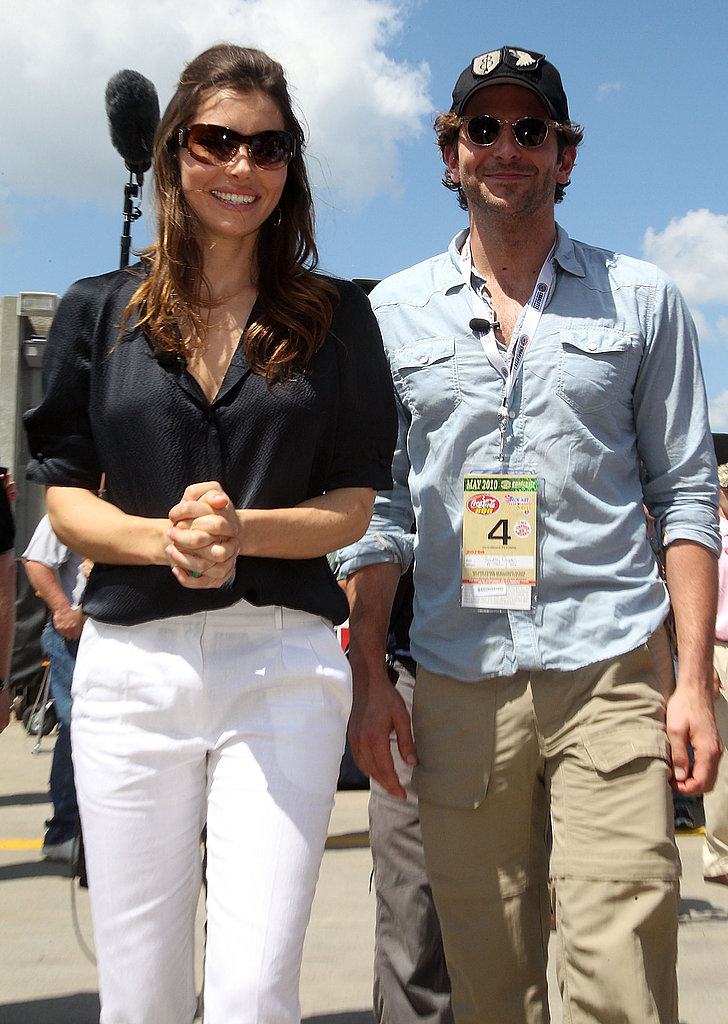 Pictures of Bradley and Jessica Biel