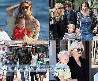 Pictures of Gwen Stefani, Jennifer Lopez, Cindy Crawford, and Liv Tyler With Their Children