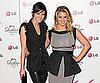Slide Picture of Ashlee Simpson and Jessica Simpson at LG Event in LA