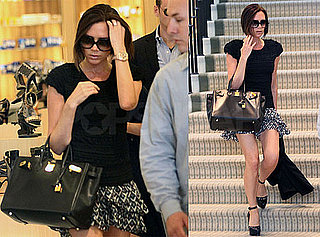 Pictures of Victoria Beckham Shopping at Barneys in LA