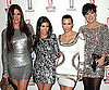 Slide Picture of Kourtney, Khloe, Kim Kardashian and Kris Jenner at E Event