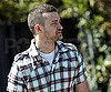 Slide Picture of Justin Timberlake Relaxing in LA