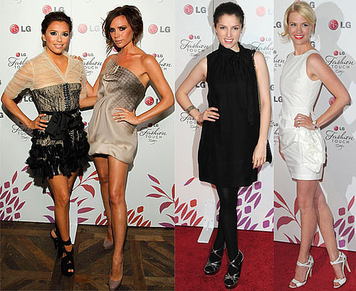 Photos de Victoria Beckham et Eva Longoria au lancement de LG avec Jessica Simpson, Selma Blair, January Jones, Vanessa Hudgens