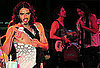 Pictures of Russell Brand Performing with Carl Barat