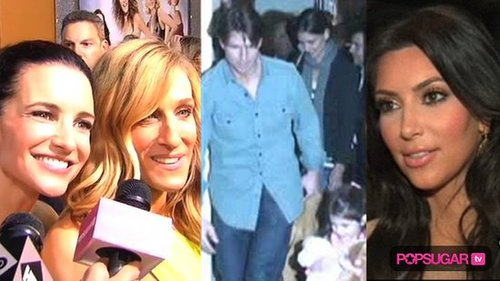 New Video of the Sex and the City 2 Premiere, Video of Suri Cruise With Tom and Katie, and Kim Kardashian Plastic Surgery Rumors 2010-05-25 15:17:37