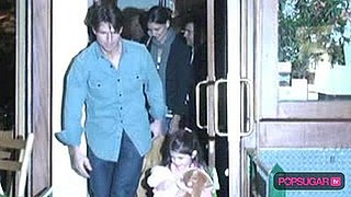 Video of Suri Cruise With Tom Cruise and Katie Holmes