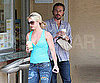 Slide Picture of Britney Spears and Jason Trawick Getting Coffee in LA