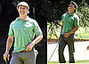 Pictures of Matthew McConaughey Golfing in LA