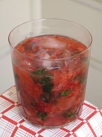 Strawberry Ginger Caipirosca
