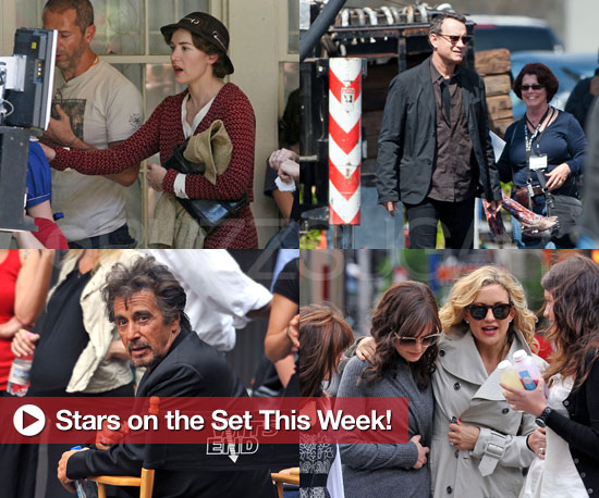 Kate Hudson, Tom Hanks, and More Stars on the Set This Week!
