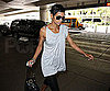 Slide Picture of Halle Berry at LAX