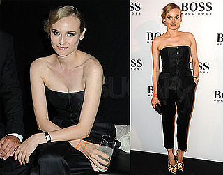 Pictures of Diane Kruger at a Hugo Boss Party in London
