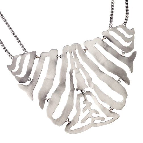 Kendra Scott Zebra Bib Necklace ($150)