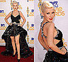 Christina Aguilera at 2010 MTV Movie Awards 2010-06-06 17:31:01
