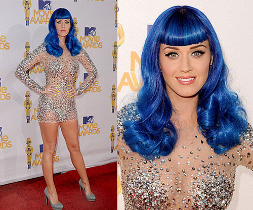 Katy Perry in Zuhair Murad at 2010 MTV Movie Awards 2010-06-06 17:57:08