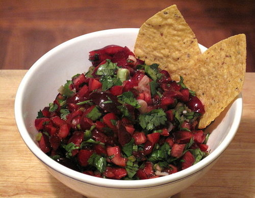 Healthy, Fast, and Easy Recipe For Fresh Cherry Salsa