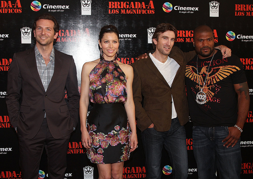 Pictures of A-Team Mexico Premiere