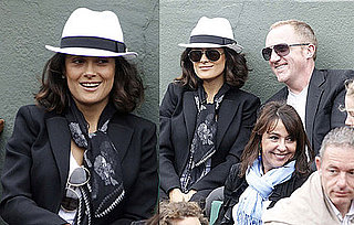 Pictures of Salma Hayek And Francois-Henri Pinault Together at The French Open 2010-06-01 12:55:21