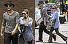 Pictures of Ashley Olsen With Justin Bartha in LA