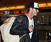Slide Picture of David Beckham at LAX