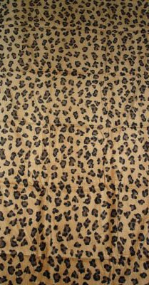 Leopard Beach Towel ($8)