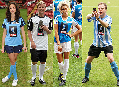 Pictures of Soccer Six 2010 Including X Factor and Skins Stars Olly Murs, Stacey Solomon, Kaya Scodelario