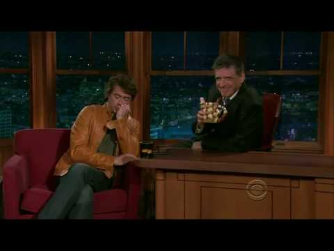 Robert Downey Jr. and Craig Ferguson's awkward pause...