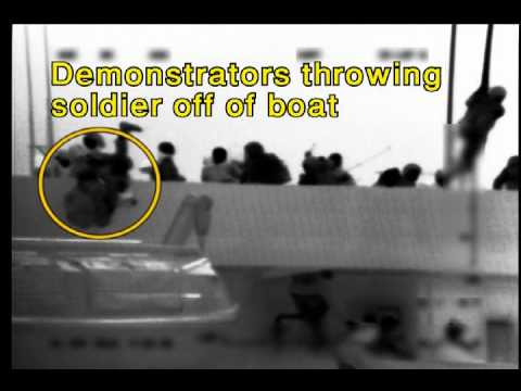 "Chilling Video: Israeli Soldiers Beaten by ""Peace"" Activists"